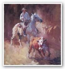 HORSE ART PRINT Sorting Suzanne Baker