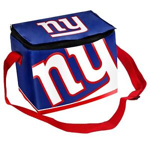 NY New York Giants Insulated soft side Lunch Bag Cooler New - BIg Logo