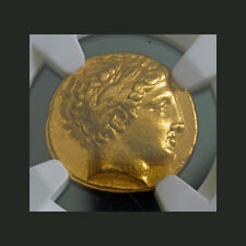 ANCIENT GOLD~ KINGDOM of MACEDON ~PHILIP II~ 359~336~BC ~NGC~XF~8.57g ~$3,888.88