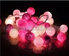 10/20 Cotton Ball Fairy Lights String Lights Wedding Party Christmas Decorative