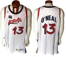 Shaquille O'Neal Shaq game used 1996 97 USA olympic basketball jersey CBM COA