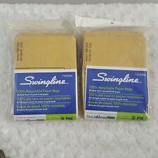 Swingline Recycled Paper Set of 2  Shredder Bags for 100X Shredder 7 Gal 5-Pack