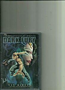 Dark Fury The Chronicles of Riddick animated DVD Vin Diesel