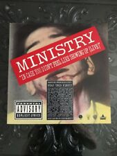 In Case You Didn't Feel Like Showing Up Ministry Laserdisc !! Super Rare !