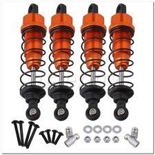 4x Orange Aluminum Shock Absorber for HPI WR8 FLUX RC1:10 Rally Car