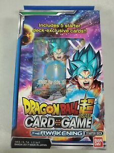 Dragon Ball SUPER TCG The Awakening Starter Deck