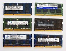 4GB DDR3 1600MHz PC3-12800S Laptop SODIMM RAM Memory ~ 1.5v 204pin iMac Notebook