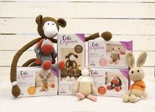 *OFFER* Crafter's Companion Threaders Cute Companions DIY Crochet Sewing Kits