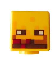 Lego Kopf Minecraft in gelb für Minifigur Blaze 19729pb007 Neu