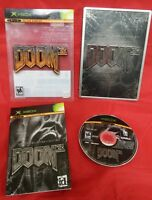 Doom 3: Limited Collector's Edition (Microsoft Xbox, 2005)