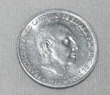 LOTE DE 4 MONEDAS DE 50 CENTIMOS DEL ESTADO ESPAÑOL FRANCO AÑO 1966 71, MUY BUEN