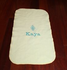 Soft Personalized Blanket for American Girl Doll Kaya, EUC!