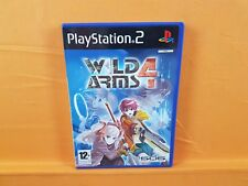 ps2 WILD ARMS 4 A Strategy RPG Game PAL UK ENGLISH Version