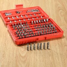 100pc Security Magnetic Bit Set Screwdriver Holder Nut Impact Driver Adaptor Kit