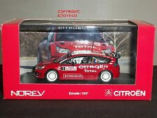 NOREV 155418 CITROEN C4 WRC MONTE CARLO RALLY RED DIECAST MODEL CAR