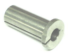 """5/8"""" OD 7/16 ID Hole Split Sleeve Spring Collet Adapter Flanged Head Bushing"""