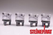 LEGO® 4x Set 11950 & 92909 **NEU** Radhalter / Radaufhängung / Radlager Lenkung