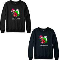 Merry Christmas 2020 Santa Quarantine Jumper,Funny Xmas Holiday Festive Gift Top
