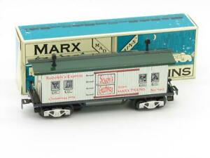 Marx Trains 73412 Rudolph's Express Lighted Baggage Car Modern Marx With Box