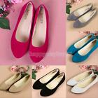 Fashion Women Boat Shoes Casual Flat Ballet Slip On Flats Loafers Single Shoes