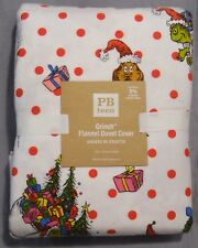 Pottery Barn PB Teen The Grinch Twin Duvet Cover