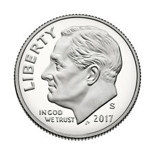 2017-S Proof Roosevelt Dime,  Clad Deep Cameo Proof