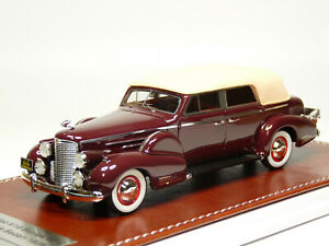 GIM Matrix 006a 1/43 1938 Cadillac V16 Series 90 Convertible Resin Model Car