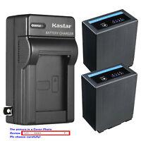 Kastar Battery AC Wall Charger for CGA-D54 Pro & Panasonic AG-DVC33 AG-DVC60