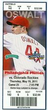 2011 Phillies vs Rockies Ticket: Jason Giamb Hits 3 HRs in game at age 40