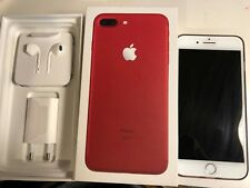 Apple iPhone 7 Plus (PRODUCT)RED rouge 128 GO comme NEUF + Accessoires