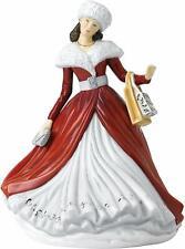 Gli inglesi Donna CO Natale Figura festosa Wishes 15917 NUOVO E Inscatolato