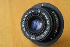 Industar-95 38mm f/2.8 E-mount lens