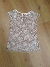 Floral Crew Neck Polyester Tops & Shirts Size Petite for Women