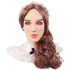 IMI Realistic Silicone Female Mask Halloween Crossdresser Masquerade Cosplay