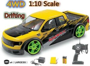 MONSTER TRUCK PICK-UP RECHARGEABLE RADIO REMOTE CONTROL CAR 20MPH FAST 4WD DRIFT