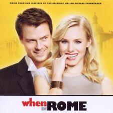 WHEN IN ROME OST (2010) 12-trk CD NEW/UNPLAYED soundtrack Jason Mraz 3OH!3