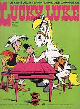 LUCKY LUKE NUMERO 2  SUPER  RARE ANNEE 1974 (SANS LE POSTER CENTRAL)