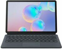"Samsung Tab S6 10.5"" (T860) Bookcover Keyboard Gray-EF-DT860UJEGUJ OEM NICE USED"