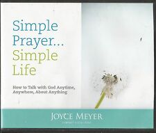 SIMPLE PRAYER . . . SIMPLE LIFE      4 CDs      Joyce Meyer