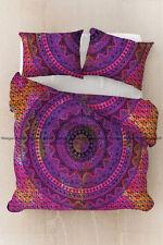 Indian cotton multi mandala duvet doona cover hippie bohemian cotton bedding set
