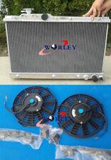 For Toyota Celica ST205 GT4 3S-GTE 1994-1999 95 96 97 MT Aluminum Radiator +Fans