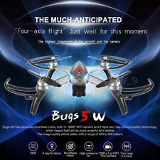 Versione Grigio MJX Bug 5W 1080P 5G Wifi FPV RC Drone di Posizionamento GPS P2K7