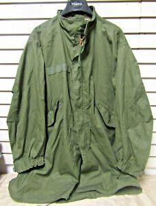 Vintage NOS USGI M-65 Fishtail Parka Medium Regular Extreme Cold Weather 1972