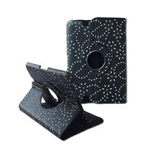 360 Rotating Cover Diamond Floral Folio Leather Case for Amazon Kindle Fire HD 7