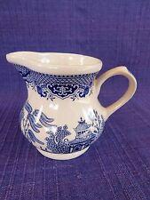 Churchill Blue Willow CREAMER  ENGLAND- DISCOUNTED