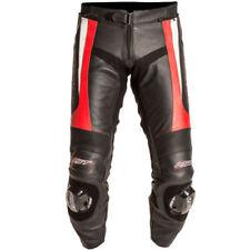 Pantalons d'été rouges pour motocyclette