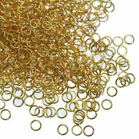 Jump Rings Metal Open Jewellery Finding 3 4 5 6 10mm Silver Gold Bronze Gunmetal