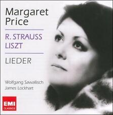 R. STRAUSS, LISZT: LIEDER (NEW CD)