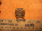 US Army Issue VN era Rifle Sharpshooter  Badge  Marked 1/20 SF, (Silver Filled?)