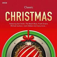 CLASSIC CHRISTMAS (2015) 58-track 3-CD NEW/SEALED Sam Smith Justin Bieber